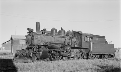 2018.15.N64.2673--ed wilkommen 116 neg--E&LS--steam locomotive 4-6-0 14--Wells MI--no date