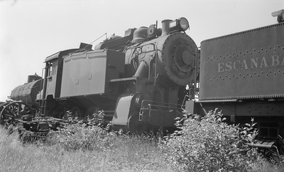 2018.15.N64.2675--ed wilkommen 116 neg--E&LS--steam locomotive0-6-0T 34--Wells MI--1946 0724