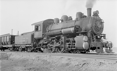 2018.15.N64.2822--ed wilkommen 116 neg--Midland Electric Coal Corp--steam locomotive 0-6-0 81 (ex M&StL)--Middle Grove IL--1956 0114