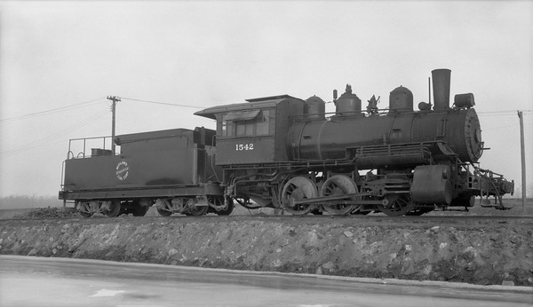 2018.15.N64.2825M--ed wilkommen 116 neg--Midland Electric Coal Corp--steam locomotive 0-6-0 1542--Atkinson IL--1955 1223