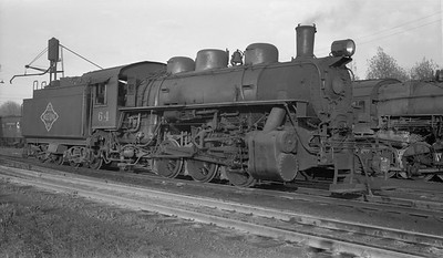 2018.15.N64G.8161--ed wilkommen 116 neg--N&PBL--steam locomotive 0-6-0 64--South Norfolk VA--no date