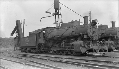 2018.15.N64G.8154A--ed wilkommen 116 neg--N&PBL--steam locomotive 0-6-0 51--South Norfolk VA--1955 0820
