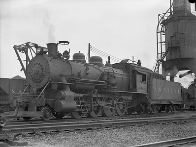 2018.15.N64G.8151M--ed wilkommen 3x4 neg [C A Brown]--N&PBL--steam locomotive 2-8-0 16--Portsmouth VA--no date