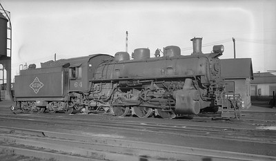 2018.15.N64G.8160--ed wilkommen 116 neg--N&PBL--steam locomotive 0-6-0 64--Portsmouth VA--no date