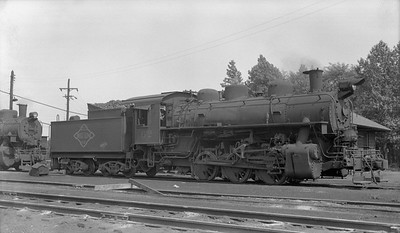 2018.15.N64G.8158A--ed wilkommen 116 neg--N&PBL--steam locomotive 0-6-0 62--South Norfolk VA--1955 0820