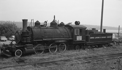 2018.15.N64L.8213--ed wilkommen 116 neg--Comox Logging & Railway Co--steam locomotive 2-6-2 7--Ladysmith BC--no date