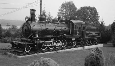 2018.15.N64L.8215--ed wilkommen 116 neg--Comox Logging & Railway Co--steam locomotive 2-8-2 11--Ladysmith BC--no date