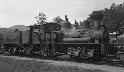 2018.15.N64L.8223--ed wilkommen 116 neg--Ely-Thomas Lumber Co--Shay steam locomotive 2--Fenwick WV--no date