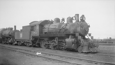 2018.15.N92.7012--ed wilkommen 116 neg--SOO--steam locomotive 2-6-0 D-2 159--North Fond du Lac WI--no date