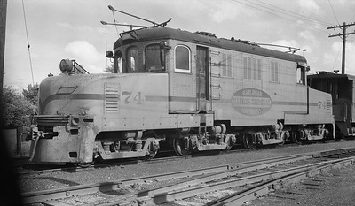 2018.15.N64.2725H--ed wilkommen 116 neg--IT--electric locomotive 74--location unknown--no date