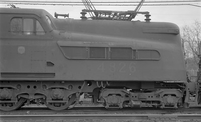 2018.15.N58.1964--ed wilkommen 116 neg--PRR--electric locomotive 4826--location unknown--1960s