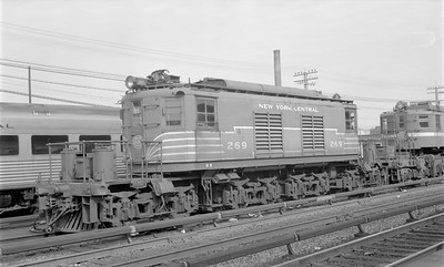 2018.15.N58.1959--ed wilkommen 116 neg--NYC--electric locomotive 269--location unknown--1960s