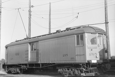 2018.15.N99A.2865M--ed wilkommen 6X9 neg--CNS&M--electric freight motorcar 215--location unknown--no date