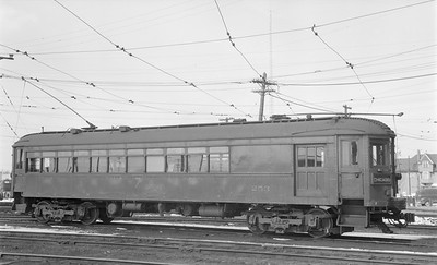 2018.15.N99A.2874--ed wilkommen 116 neg--CNS&M--electric interurban combine 253--Milwaukee WI (Harrison St Yard)--no date