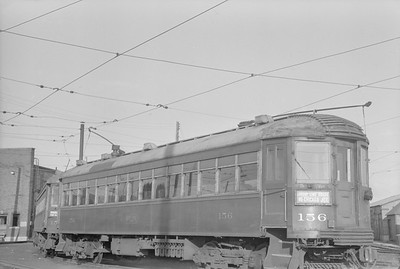 2018.15.N99A.2860D--ed wilkommen 6X9 neg--CNS&M--electric interurban coach 156--Milwaukee WI--no date