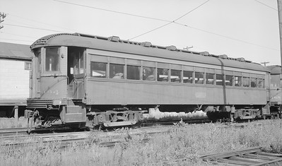 2018.15.N99A.2863A--ed wilkommen 116 neg--CNS&M--electric interurban coach trailer 194--location unknown--no date