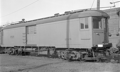 2018.15.N99A.2866--ed wilkommen 116 neg--CNS&M--electric express motorcar 218--North Chicago IL (Pettibone Yard)--1961 0800