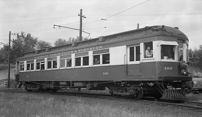2018.15.N64.3025A--ed wilkommen 116 neg--WFC&N--electric interurban 100--location unknown--no date