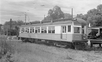 2018.15.N64.3027--ed wilkommen 116 neg--WCF&N--electric obs interurban 102--Waverly IA--1954 0718