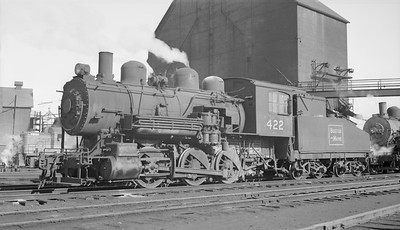 2018.15.N95B.7197--ed wilkommen 116 neg [Edward R Batson Jr]--B&M--steam locomotive 0-6-0 G-11-a 422--Boston MA--1953 0117