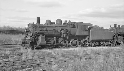 2018.15.N95B.7204--ed wilkommen 116 neg [Edward R Batson Jr]--B&M--steam locomotive 2-6-0 B-15-b 1449--North Billerica MA--1952 1220