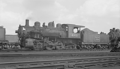2018.15.N95B.7198--ed wilkommen 116 neg [Edward R Batson Jr]--B&M--steam locomotive 0-6-0 G-11-b 448--Boston MA--1952 0900