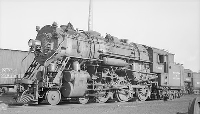 2018.15.N95A.7188--ed wilkommen 116 neg [Edward R Batson Jr]--B&A--steam locomotive 4-6-6T 400--Allston MA--1950 0513