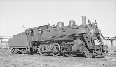 2018.15.N95B.7202--ed wilkommen 116 neg [Edward R Batson Jr]--B&M--steam locomotive 2-6-0 B-15-b 1373--North Billerica MA--1949 0600