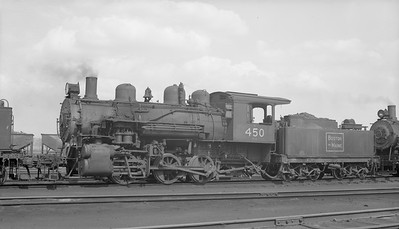 2018.15.N95B.7199--ed wilkommen 116 neg--B&M--steam locomotive 0-6-0 G11b G-11-b 450--Boston MA--1953 0913