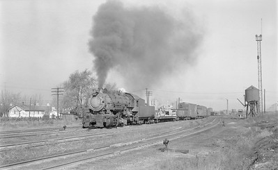 2018.15.N69.5455--ed wilkommen 116 neg--CB&Q--steam locomotive 0-8-0 F-1 543 switching action--Centralia IL--1954 1109