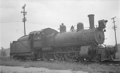 2018.15.N69.5459--ed wilkommen 116 neg--CB&Q--steam locomotive 4-6-0 K-4 903 (dead)--location unknown--no date
