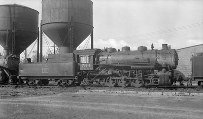 2018.15.N69.5455M--ed wilkommen 116 neg--CB&Q--steam locomotive 0-8-0 F-1 544 (dead)--location unknown--no date