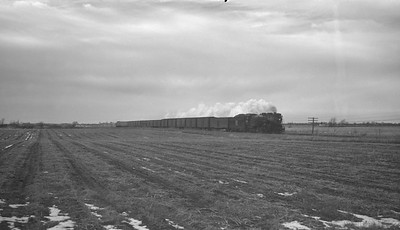 2018.15.N69.7492--ed wilkommen 116 neg--CB&Q--steam locomotive 4-6-4 S-4 4004 on express train action--location unknown--no date