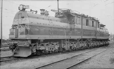 2018.15.N68D.4866--ed wilkommen 116 neg--CMStP&P--electric locomotive E-1--Seattle WA--1951 0819