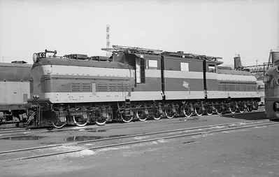 2018.15.N68D.4870--ed wilkommen 6x9 neg--CMStP&P--electric locomotive E-2--Milwaukee WI--no date
