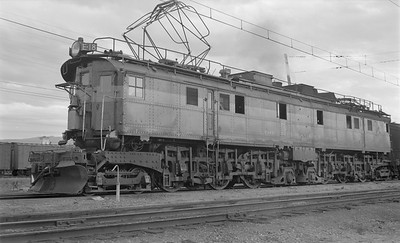 2018.15.N68D.4883--ed wilkommen 116 neg--CMStP&P--electric locomotive E-18--Butte MT--1952 0906