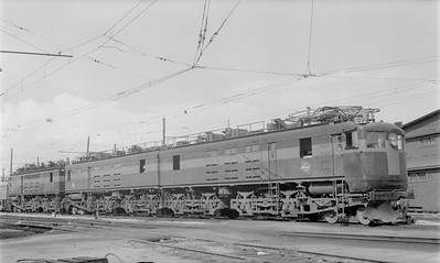 2018.15.N68D.4888--ed wilkommen 116 neg--CMStP&P--electric locomotive E-22--Deer Lodge MT--1955 0621
