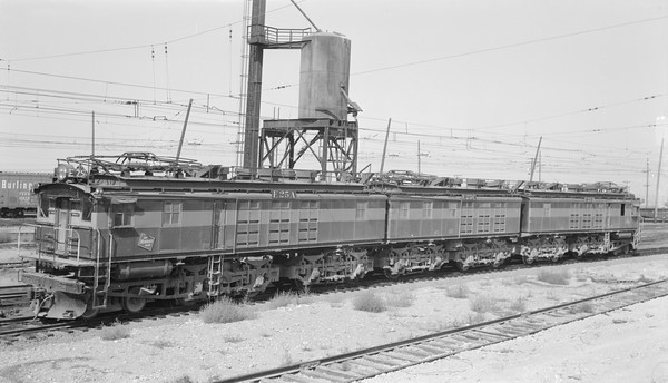 2018.15.N68D.4891A--ed wilkommen 116 neg--CMStP&P--electric locomotive E-25--location unknown-no date