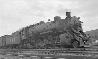 2018.15.N86.6391--ed wilkommen 116 neg--C&EI--steam locomotive 2-8-2 1944--Chicago IL--1947 0518