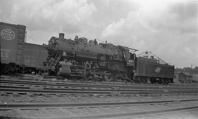 2018.15.N66A.3472--ed wilkommen 116 neg--CStPM&O--steam locomotive 0-8-0 M-5 67--St Paul MN--1949 0704