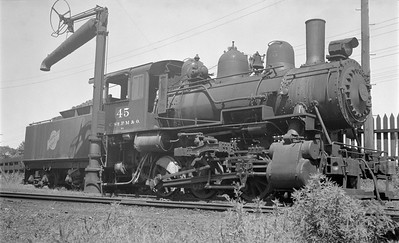 2018.15.N66A.3464--ed wilkommen 116 neg--CStPM&O--steam locomotive 0-6-0 M-1 45--St Paul MN--no date 2018.15.N66A.3464--ed wilkommen 116 neg--CStPM&O--steam locomotive 0-6-0 M-1 45--St Paul MN--no date