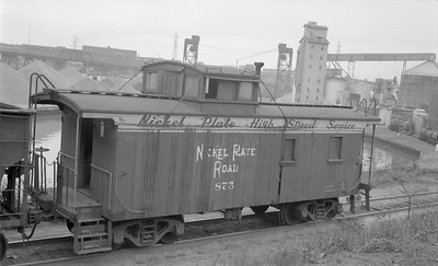 2018.15.N45.1566--ed wilkommen 116 neg--caboose--NKP--location unknown--no date