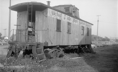 2018.15.N45.1568--ed wilkommen 116 neg--caboose--NKP--location unknown--no date