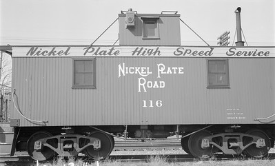 2018.15.N45.1562--ed wilkommen 116 neg--caboose--NKP--location unknown--no date