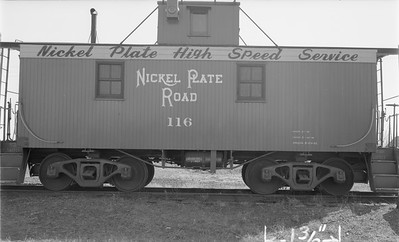 2018.15.N45.1563--ed wilkommen 116 neg--caboose--NKP--location unknown--no date