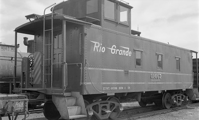 2018.15.N45.1552--ed wilkommen 116 neg--caboose--D&RGW--location unknown--no date