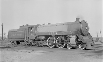 2018.15.N83.6343--ed wilkommen 116 neg--CP--steam locomotive 4-4-4 F1A 2929--Brandon MB--no date