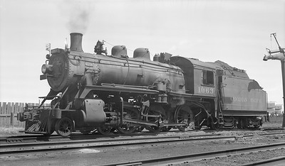 2018.15.N83.6335P--ed wilkommen 116 neg--CP--steam locomotive 4-6-0 D10K 1063--location unknown--no date