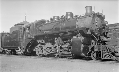 2018.15.N83.6346--ed wilkommen 116 neg--CP--steam locomotive 2-8-0 N2A 3600--Yack BC--1953 0718