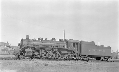 2018.15.N83.6347--ed wilkommen 116 neg--CP--steam locomotive 2-8-2 P1N 5253--Minnedosa MB--1958 0911